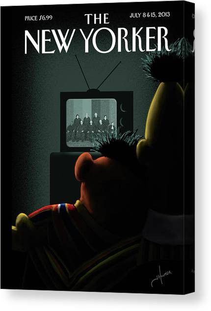 New Yorker July 8th, 2013 Canvas Print