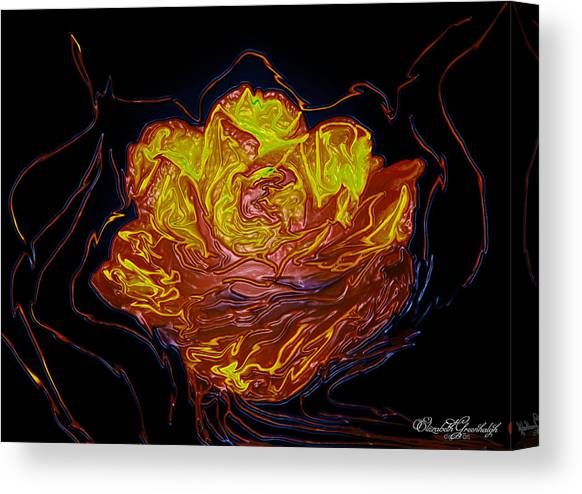 Burning Roses Canvas Prints Page 3 Of 4 Fine Art America
