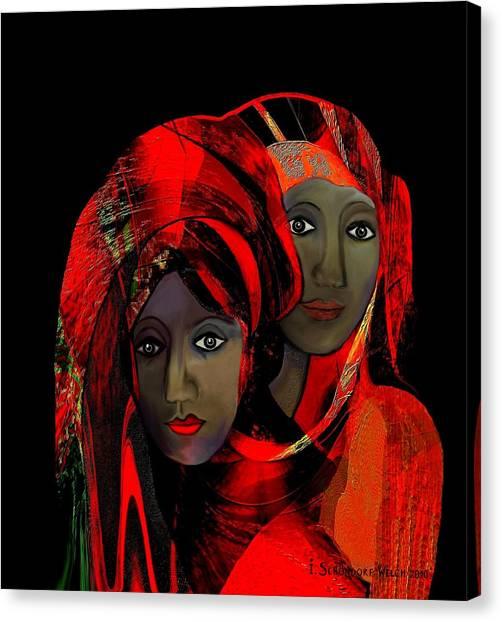 000 - Colour Of Passion Canvas Print
