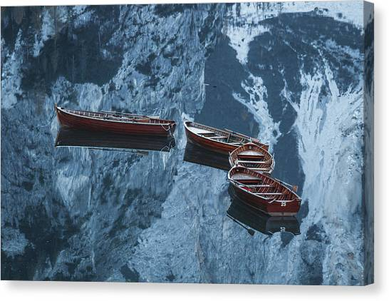 Dolomites Canvas Print - * 21 - - 25  * by Stani Szilagyi