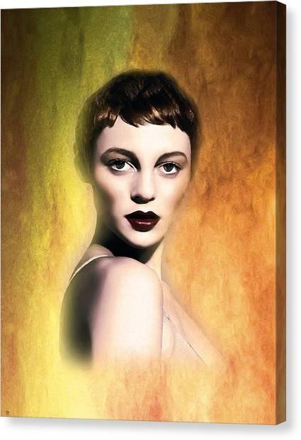 A Portrait Of Isabella Canvas Print