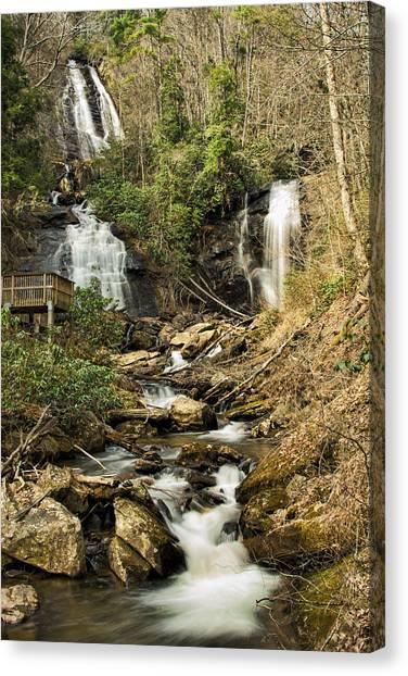 Amacola Falls Canvas Print