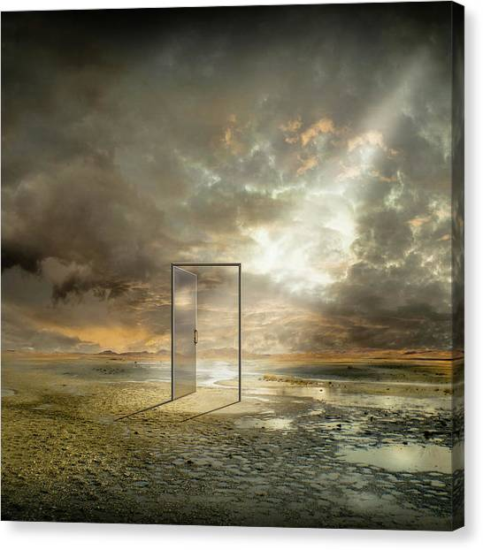 | Behind The Reality | Canvas Print by Franziskus Pfleghart