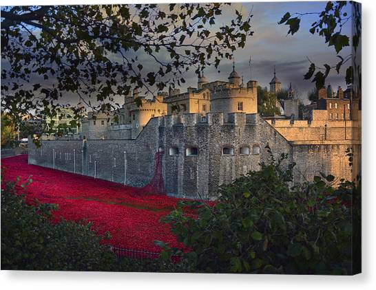 Blood Swept Lands And Seas Of Red. Canvas Print