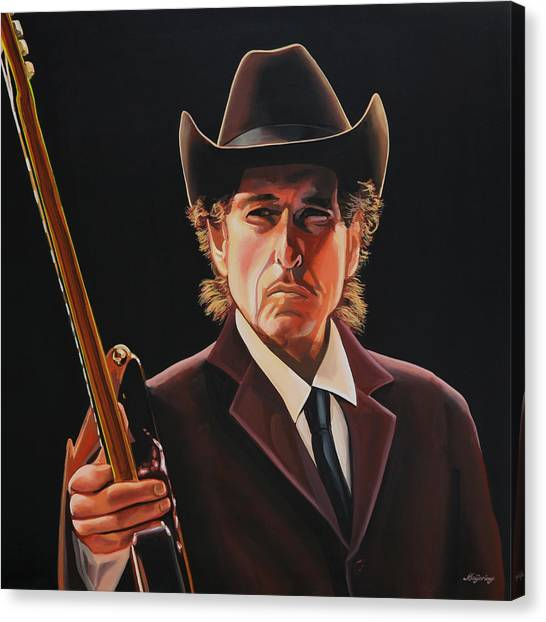 Heaven Canvas Print -  Bob Dylan 2 by Paul Meijering