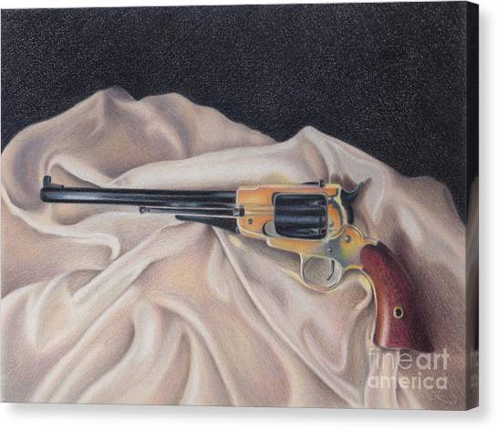 Buffalo Blackpowder Revolver  Canvas Print