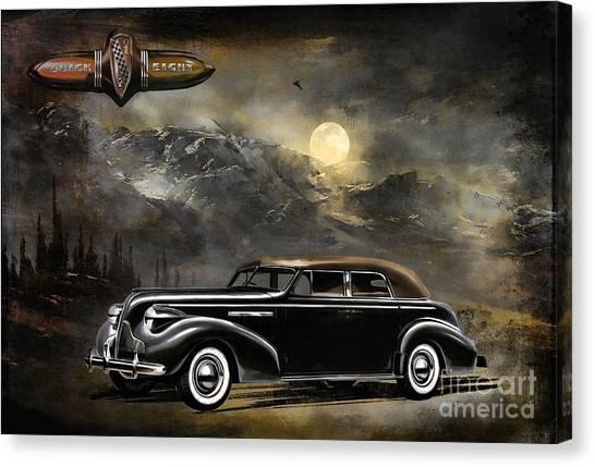 Buick 1939 Canvas Print by Andrzej Szczerski