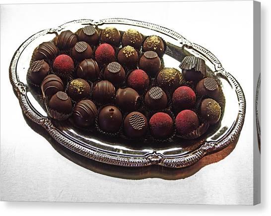 Chocolates Canvas Print