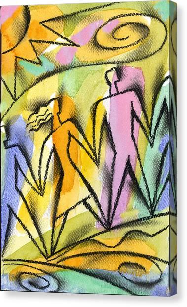 Health Care Canvas Print -  Connection by Leon Zernitsky