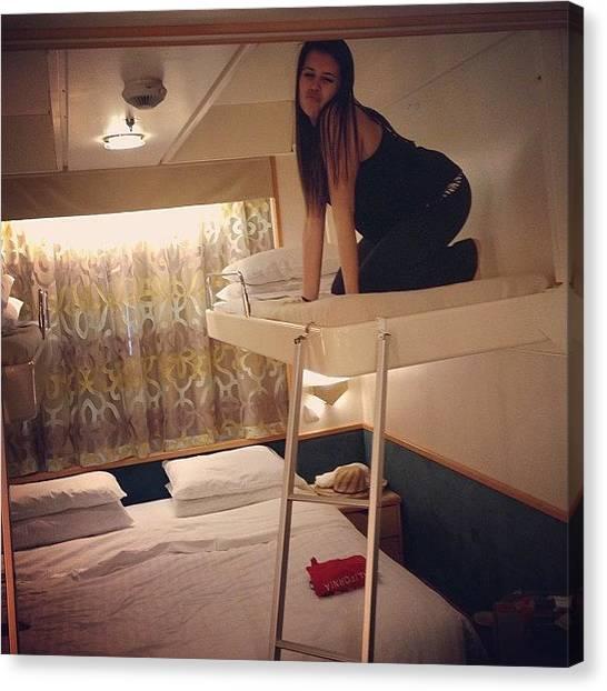 Bahamas Canvas Print - ✌ #cruise #cabin #bunk #bed #love by Gabriella Molina