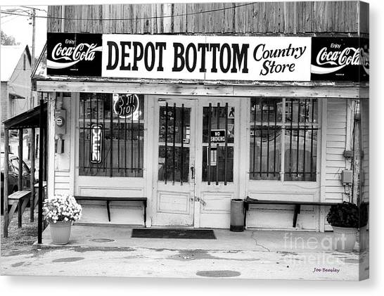 Depot Bottom Country Store Canvas Print by   Joe Beasley