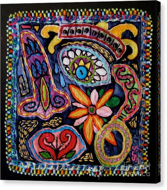 Dia De Los Muertos  Canvas Print by Susan Sorrell