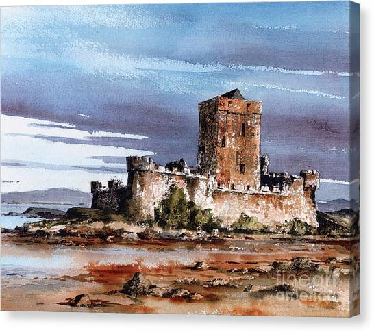 Doe Castle In Donegal Canvas Print