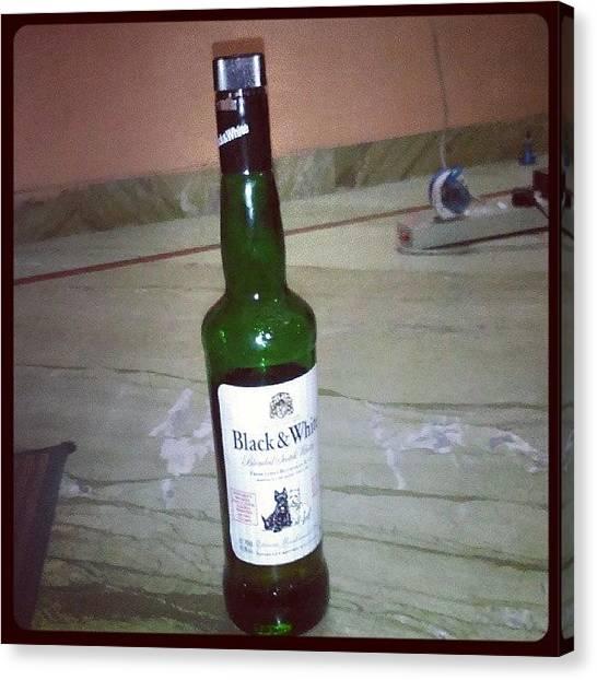 Scotch Canvas Print -  Drive German, Wear Italian, Drink by Abhi Meher Yadav