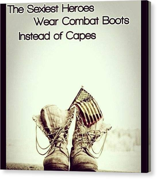 Soldiers Canvas Print - ❤🇺🇸 #fact #truth #soldiers by Michaelene Hoge