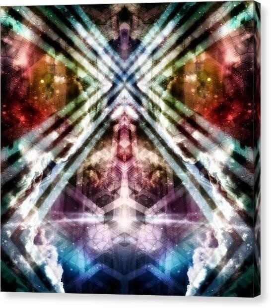Symmetrical Canvas Print - ✴ Fever Dreams ✴ - Sensible & by Jeddadiah Aiono