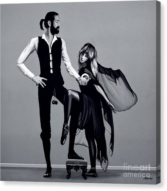Stevie Nicks Canvas Print -  Fleetwood Mac by Meijering Manupix