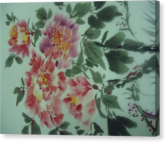 Flower 0725-2 Canvas Print