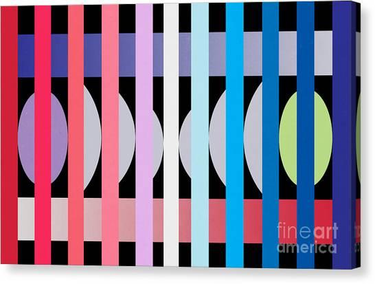 Contemporary Canvas Print -  Fun Geometric  by Mark Ashkenazi