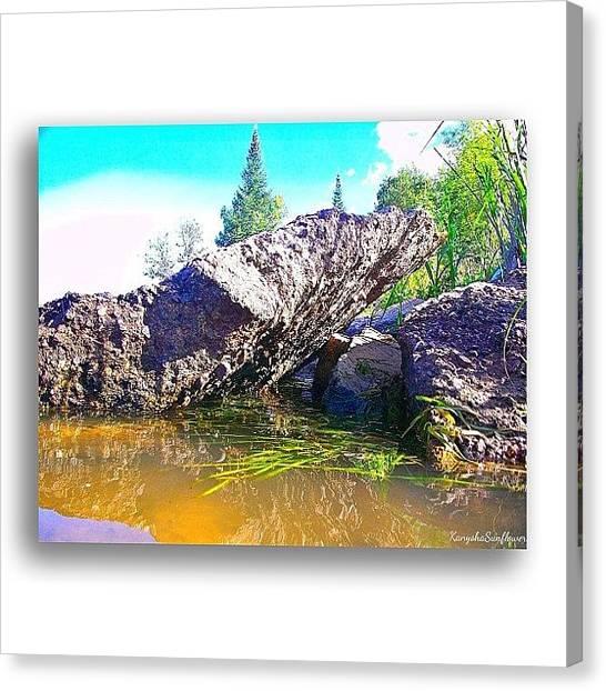 Manitoba Canvas Print - ... #gf_daily #gf_canada #pinawa by Ren Brooks