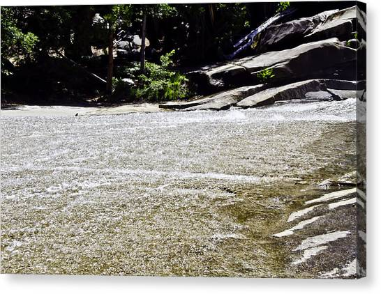 Granite River Canvas Print