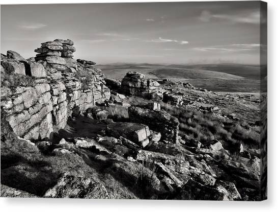 Great Mis Tor Canvas Print