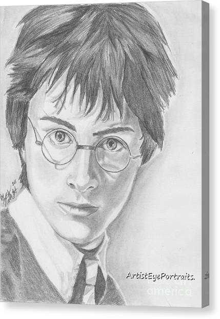 Harry Potter Canvas Print by Nathaniel Bostrom