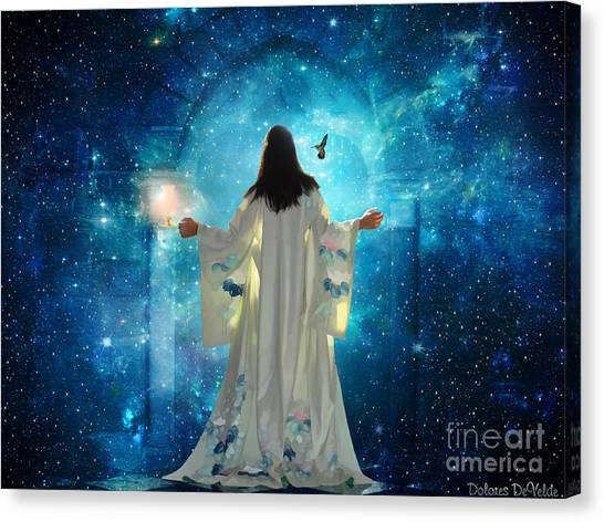 Heavens Door Canvas Print