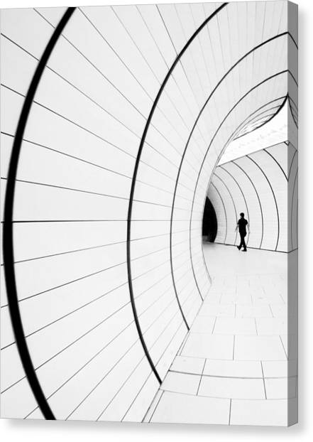 Tunnels Canvas Print - ((( I) by Renata Z.