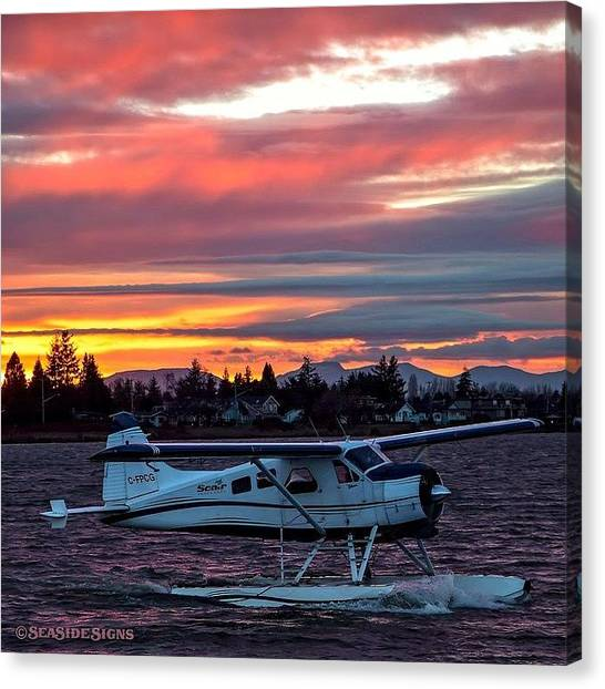 Seaplanes Canvas Print - 🎄 I'll Be Home For Christmas by Michael Thornquist