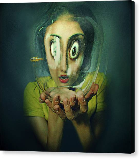 Crazy Canvas Print - .. by Inga Ivanova