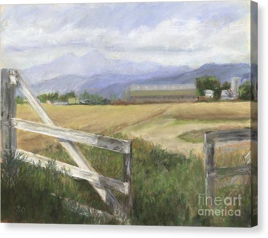 Canvas Print -  Invitation Westward by Susan Driver