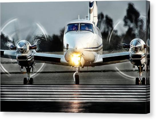 King Air  Canvas Print