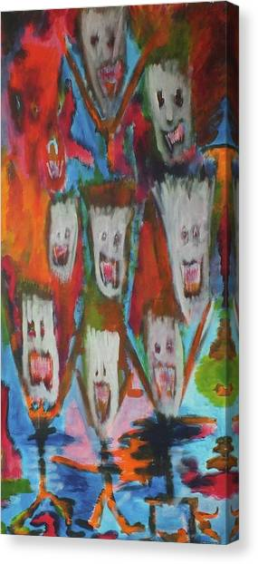 Laughter Canvas Print by Randall Ciotti