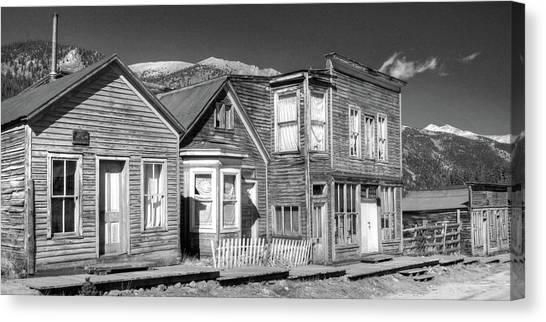 Main Street St Elmo Colorado Canvas Print