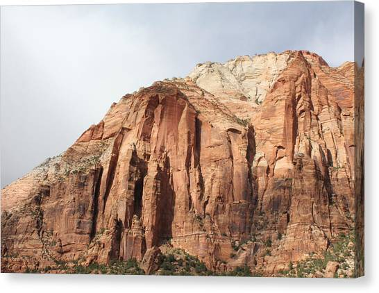 Canvas Print -  Majestic Mountain by Christine Rivers