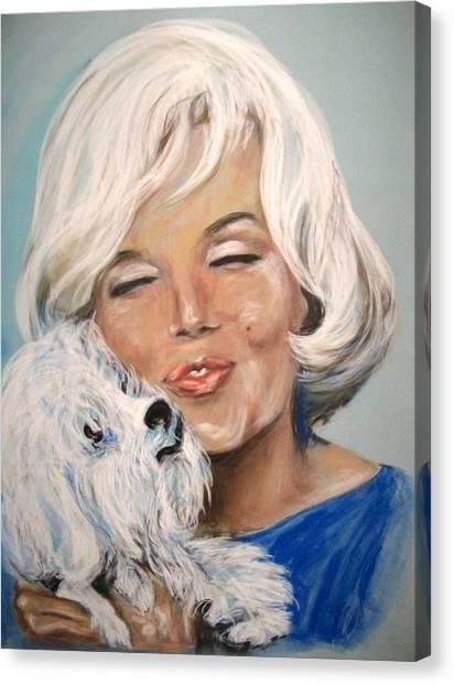 Marilyn And Maf Canvas Print