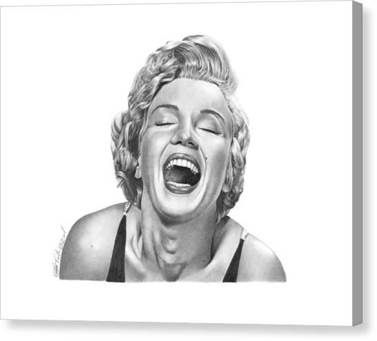 Marilyn Monroe - 034 Canvas Print