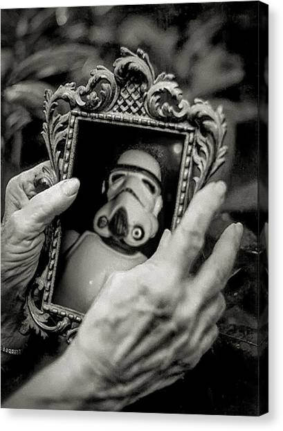Stormtrooper Canvas Print -  Memories by Tony Leone