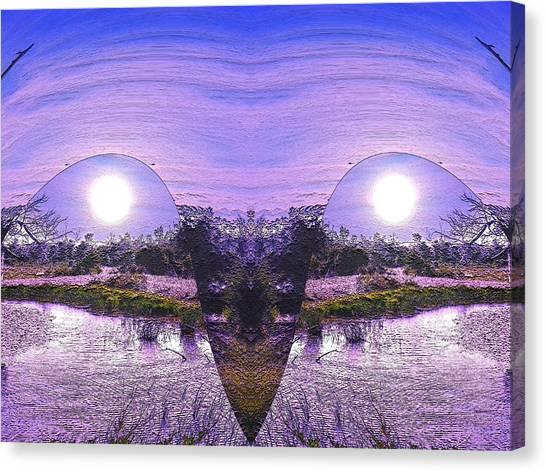 Mirrored Ego Canvas Print