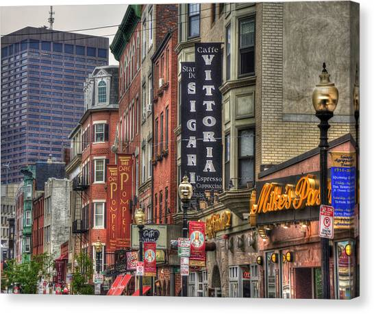North End Charm - Boston Canvas Print