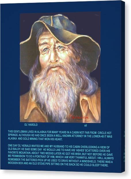 Ol' Herold  Canvas Print