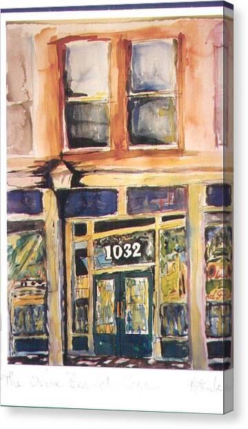 Olive Branch Cafe  Canvas Print