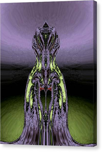 One Of Six Body Styles Canvas Print