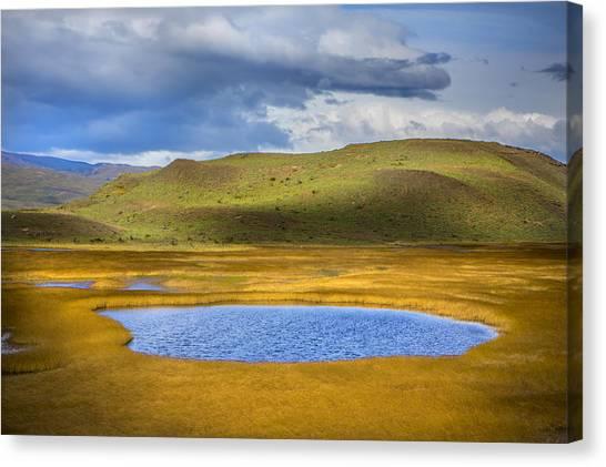 Patagonian Lakes Canvas Print