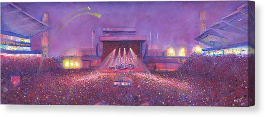 2013 Canvas Print -  Phish At Dicks by David Sockrider