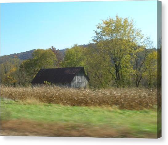 Rural Highway   Canvas Print by Dina  Stillwell