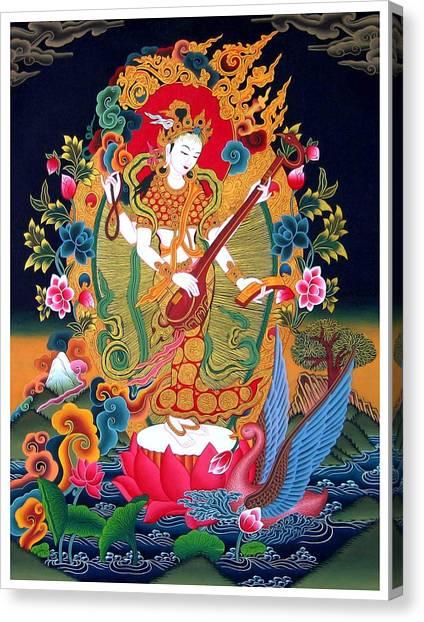 Saraswati 3 Canvas Print