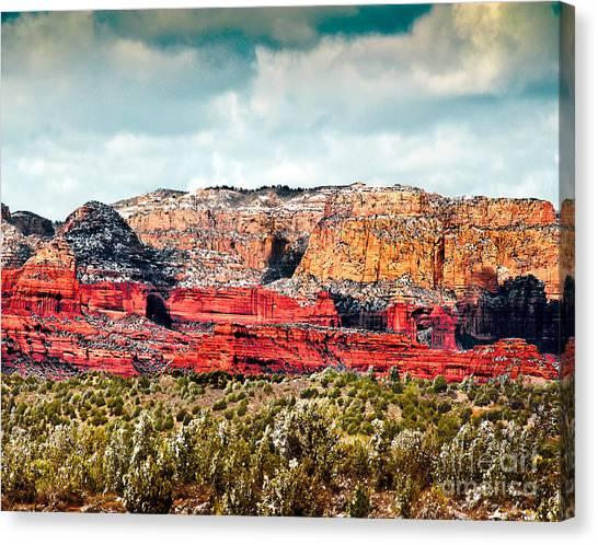 Secret Mountain Wilderness Sedona Arizona Canvas Print