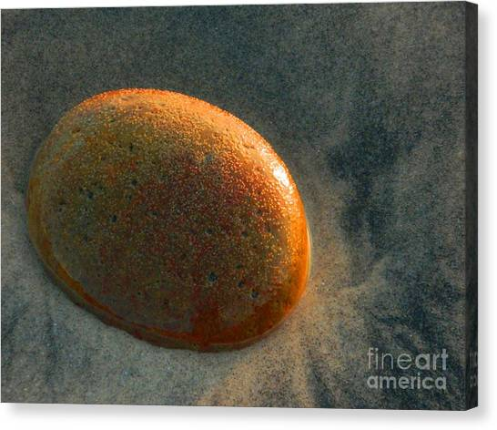 Smooth Stone Canvas Print